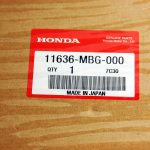Прокладка крышки генератора Honda, OEM# 11636-MBG-000