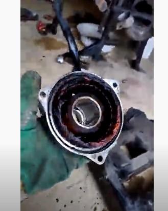 Ремонт генератора Honda ST1100 Pan European